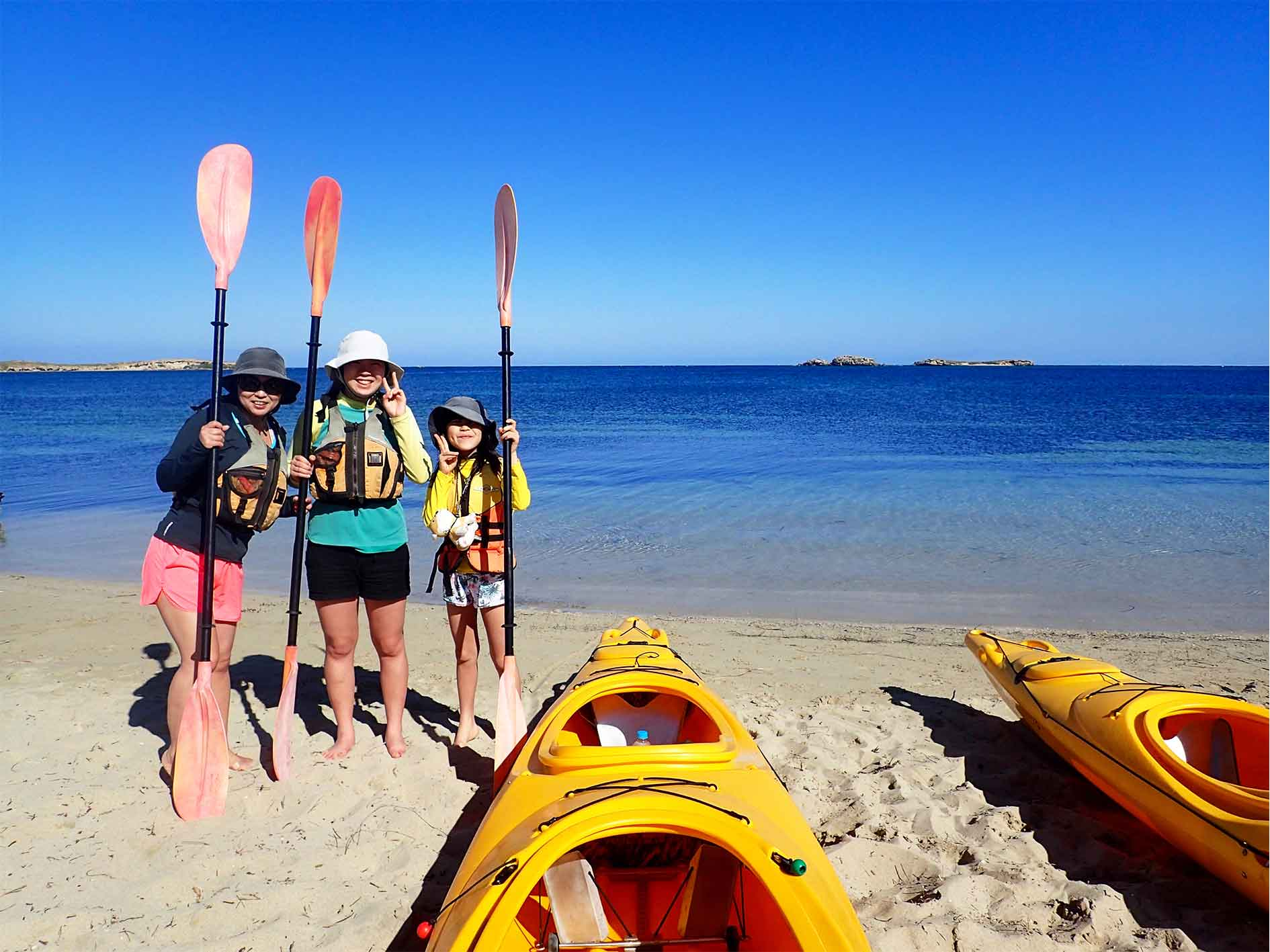 kayak tour Perth, sea kayak tour, gift voucher, experience gift, Penguin Island tour,